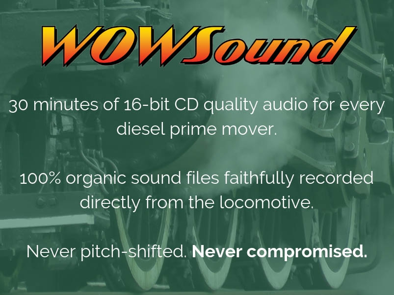 WOWSound. Changing the landscape of dcc sound decoders