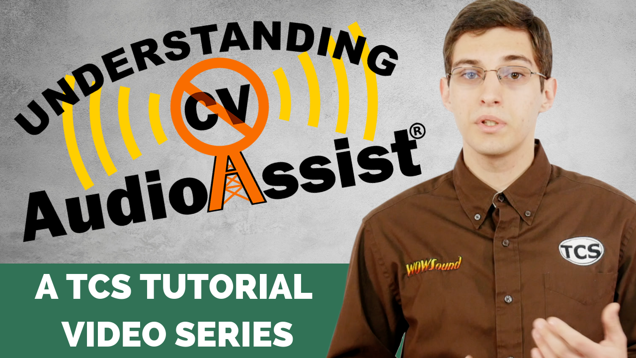 New TCS Video Tutorials on Audio Assist