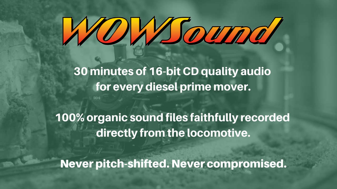 WOWSound cd quality sound