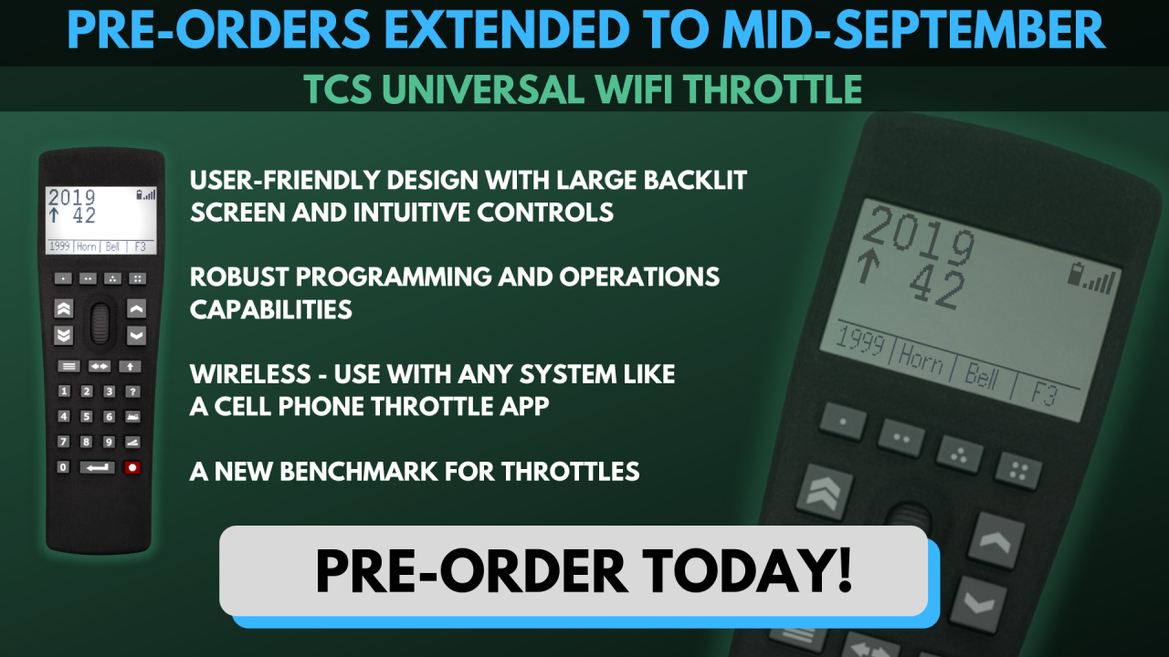 Pre-Orders Extended