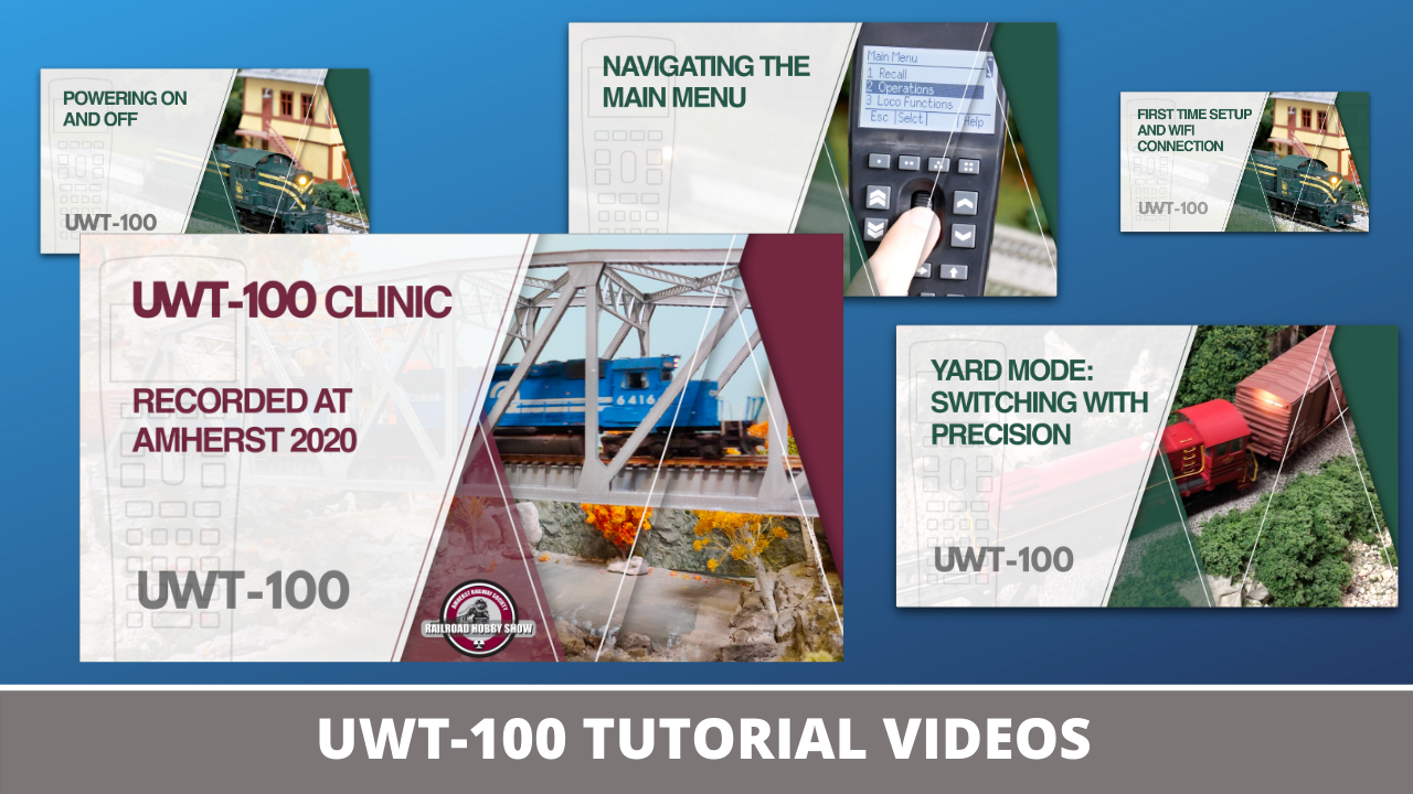 Click to view UWT-100 tutorial videos